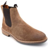 Chaussures Homme Boots Schmoove pilot chelsea Marron
