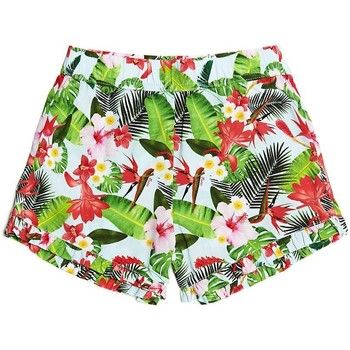Short enfant Guess Short Fille Imprimé vert J82D16