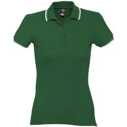 Vêtements Femme Polos manches courtes Sols PRACTICE GOLF SPORT Verde