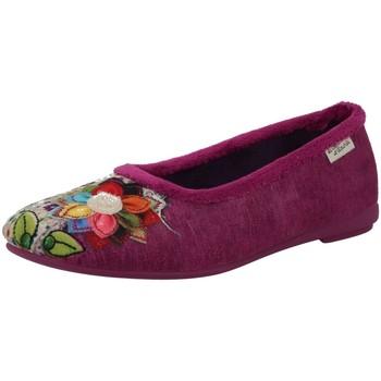 Chaussures Femme Chaussons La Maison De L'espadrille 6090-2 FUSCHIA