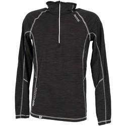 Vêtements Homme T-shirts manches longues Regatta Yonder black 1/2z polar Noir