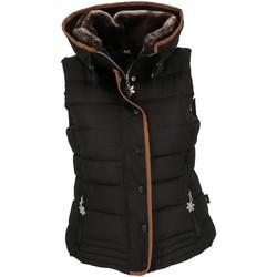 Vêtements Femme Blousons Eldera Sportswear Mary noir sm doudoune l Noir