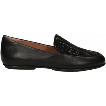 Chaussures Femme Mocassins FitFlop LENA CRYSTAL LOAFER black