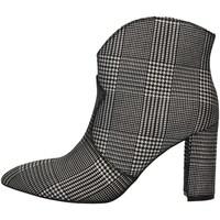 Chaussures Femme Low boots Café Noir HLF833 ARGENT