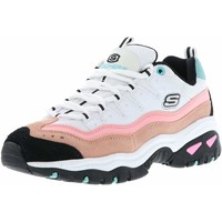 Chaussures Femme Baskets basses Skechers D'Lites Cool Change blanc