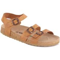 Chaussures Femme Sandales et Nu-pieds Mas Provençal Leandra Gold