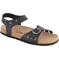 Chaussures Femme Sandales et Nu-pieds Mas Provençal Rafaela Noir