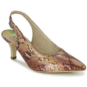 Chaussures Femme Escarpins Dorking MOON Marron