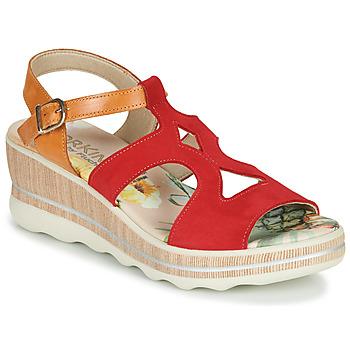 Chaussures Femme Sandales et Nu-pieds Dorking YAP Rouge
