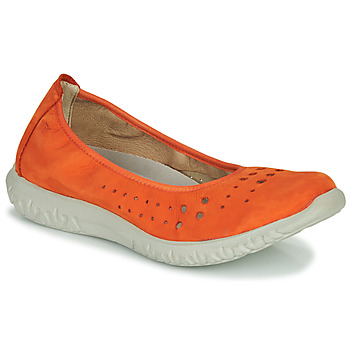 Chaussures Femme Ballerines / babies Dorking SILVER Orange