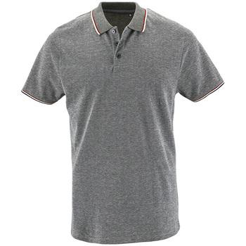 Vêtements Homme Polos manches courtes Sols PANAME CITY MEN Gris