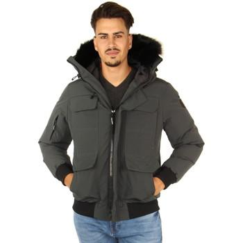 Vêtements Homme Blousons Helvetica Blouson  raptor ref_h47584 gris Gris