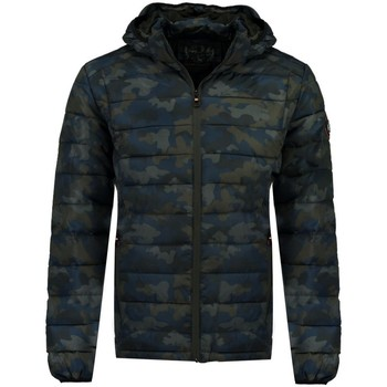 Vêtements Homme Doudounes Geographical Norway Doudoune Homme Amilite Bleu