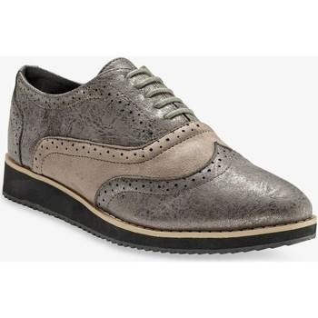 Chaussures Femme Derbies Blancheporte Irise Gris Irisé