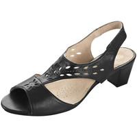 Chaussures Femme Sandales et Nu-pieds Bleu Bonheur 47817 Noir