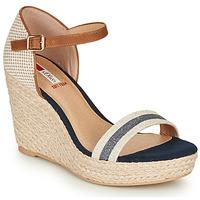 Chaussures Femme Sandales et Nu-pieds S.Oliver NOULATI Beige / marine