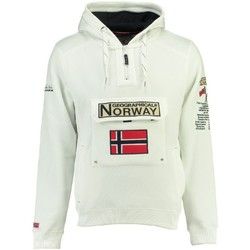 Vêtements Homme Sweats Geographical Norway Sweat Homme Gymclass New B Blanc