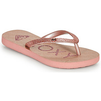 Chaussures Fille Tongs Roxy VIVA GLTR III Rose