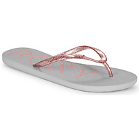 Chaussures Femme Tongs Roxy VIVA SPARKLE Gris / Rose