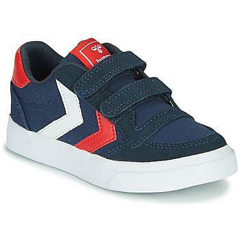 Chaussures Enfant Baskets basses Hummel STADIL LOW JR Bleu