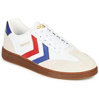 Chaussures Homme Baskets basses Hummel VM78 CPH LEATHER Blanc / Rouge / Bleu