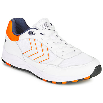 Chaussures Homme Baskets basses Hummel 3-S SPORT Blanc / Orange