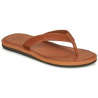 Chaussures Homme Tongs Quiksilver MOLOKAI NUBUK II Marron