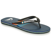 Chaussures Homme Tongs Quiksilver MOLOKAI SEASONS Noir / Bleu / Orange