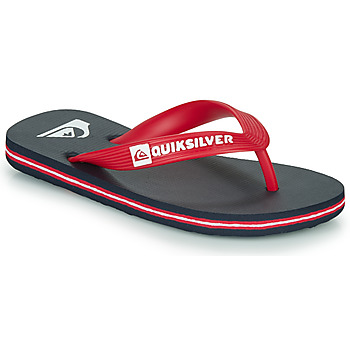 Chaussures Enfant Tongs Quiksilver MOLOKAI YOUTH Bleu / Rouge