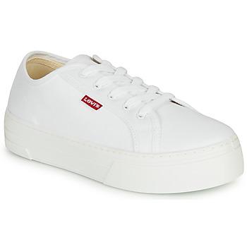 Chaussures Femme Baskets basses Levi's TIJUANA Blanc