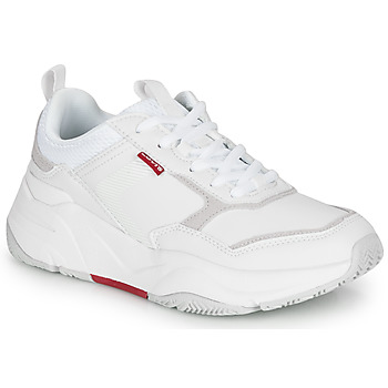Chaussures Femme Baskets basses Levi's WEST Blanc