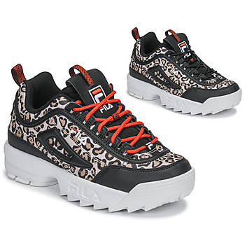 Chaussures Femme Baskets basses Fila DISRUPTOR ANIMAL WMN Noir