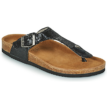Chaussures Femme Tongs Les Petites Bombes TANIA Noir