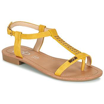 Chaussures Femme Sandales et Nu-pieds Les Petites Bombes EMILIE Moutarde