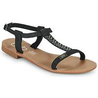 Chaussures Femme Sandales et Nu-pieds Les Petites Bombes EMILIE Noir