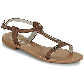 Chaussures Femme Sandales et Nu-pieds Les Petites Bombes EMILIE Camel