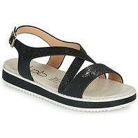 Chaussures Femme Sandales et Nu-pieds Les Petites Bombes MARIA Noir
