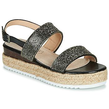 Chaussures Femme Sandales et Nu-pieds Les Petites Bombes CHLOE Noir