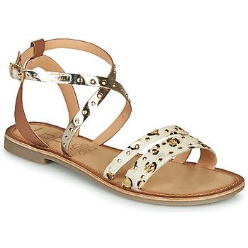 Chaussures Femme Sandales et Nu-pieds Les Petites Bombes AGATHE Doré