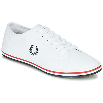 Chaussures Homme Baskets basses Fred Perry KINGSTON TWILL Blanc