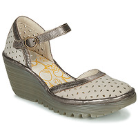 Chaussures Femme Escarpins Fly London YVEN Gris / Bronze