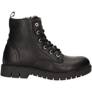 Chaussures Fille Boots Levi's VPHI0001S PASADENA Negro