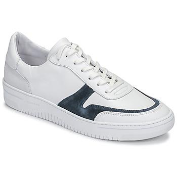 Chaussures Homme Baskets basses Schmoove EVOC-SNEAKER Blanc / Bleu