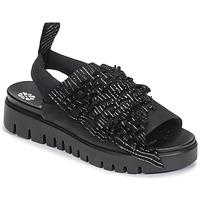 Chaussures Femme Sandales et Nu-pieds Papucei RAMINA Noir