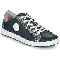Chaussures Femme Baskets basses Pataugas JUNE Marine / Rose
