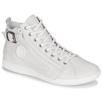 Chaussures Femme Baskets montantes Pataugas PALME/N Blanc