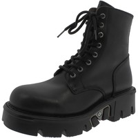 Chaussures Fille Bottines New Rock ITALI NERE NERE Noir