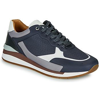 Chaussures Homme Baskets basses BOSS LEMENT RUNN LYEM Marine / Gris