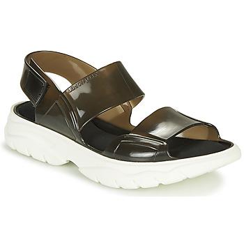 Chaussures Femme Sandales et Nu-pieds Lemon Jelly JUNO Noir / Blanc