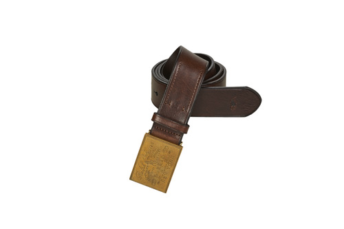 Accessoires textile Homme Ceintures Polo Ralph Lauren PLO HRTG BLT-CASUAL-SMOOTH LEATHER Marron